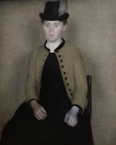 Portarit Ida femme de lartiste Hammer 1890.jpg